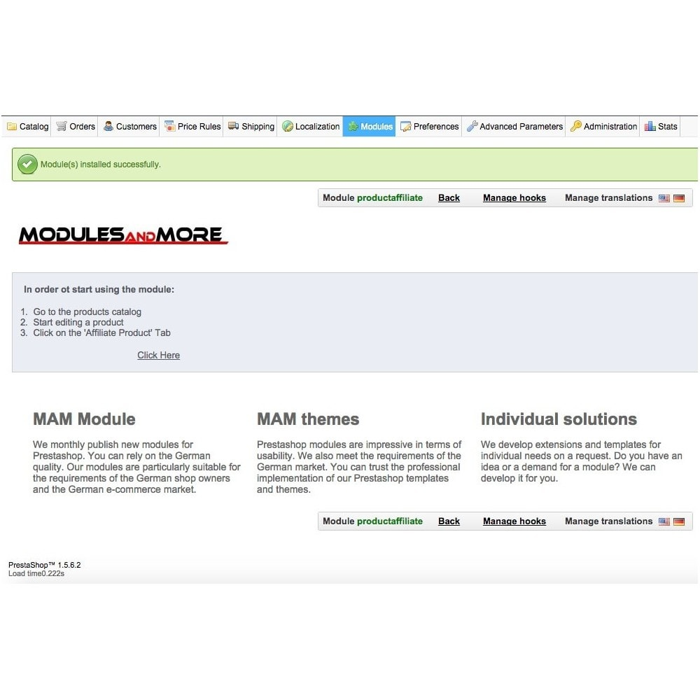 module - SEA SEM (paid advertising) & Affiliation Platforms - Affiliate Product - 3