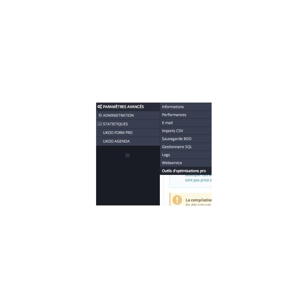 module - Performance du Site - Outils d'Optimisations Pro - 1