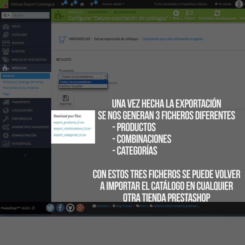 module - Importación y Exportación de datos - Exportador de productos para importador oficial - 4