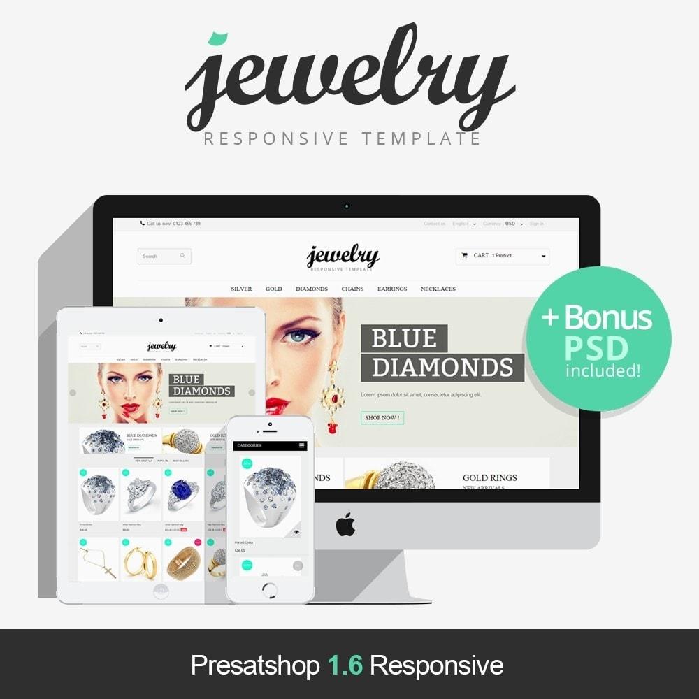 theme - Biżuteria & Akcesoria - Jewelry Prestashop 1.6 Responsive - 1
