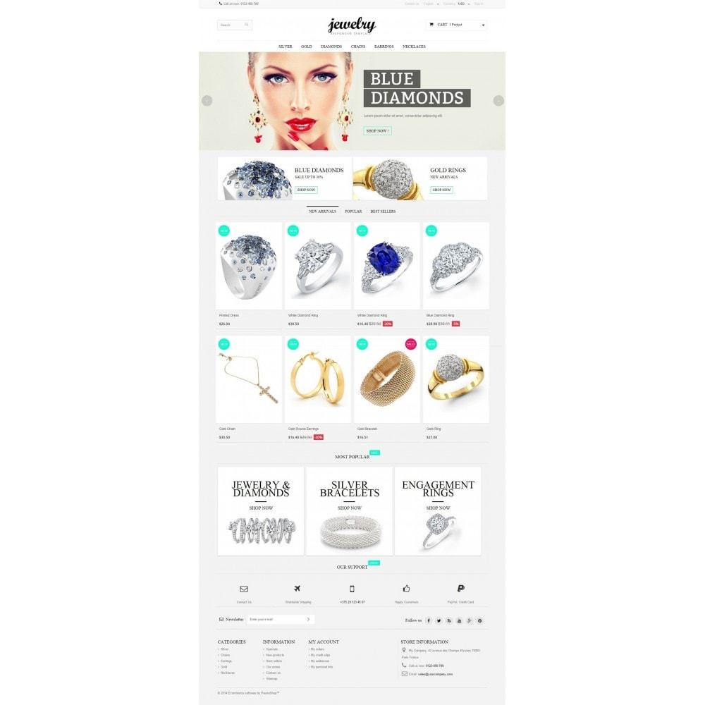 theme - Biżuteria & Akcesoria - Jewelry Prestashop 1.6 Responsive - 2