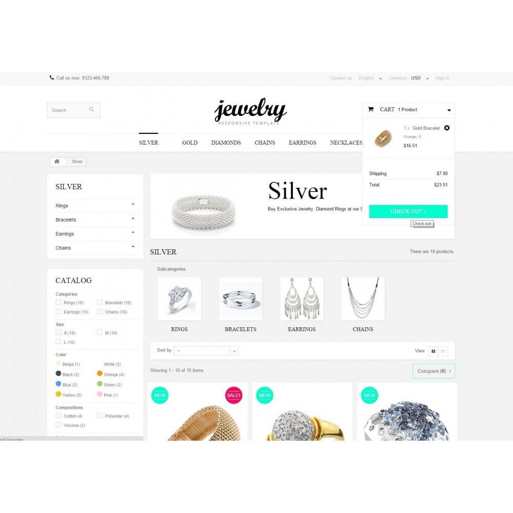 theme - Biżuteria & Akcesoria - Jewelry Prestashop 1.6 Responsive - 6