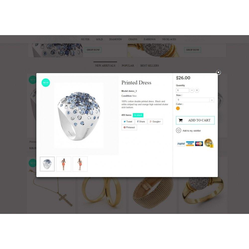 theme - Biżuteria & Akcesoria - Jewelry Prestashop 1.6 Responsive - 7