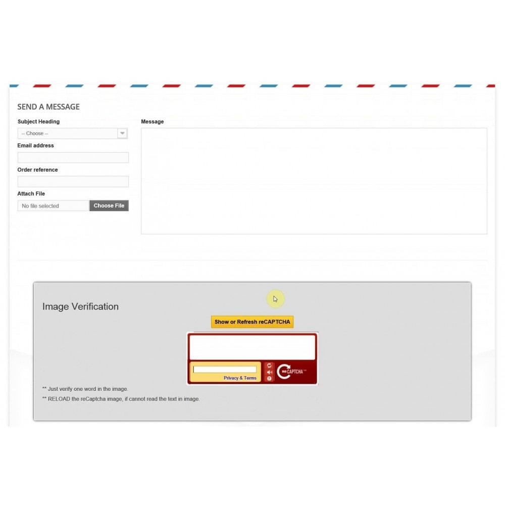 module - Inscription & Processus de commande - Customer Email Verification & Google Recaptcha AntiSpam - 7