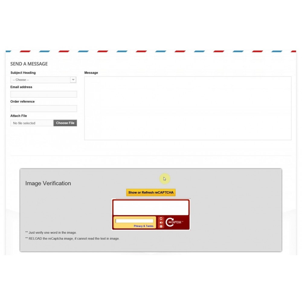 module - Registratie en Proces van bestellingen - New Customer Email Verification and Google Recaptcha - 6