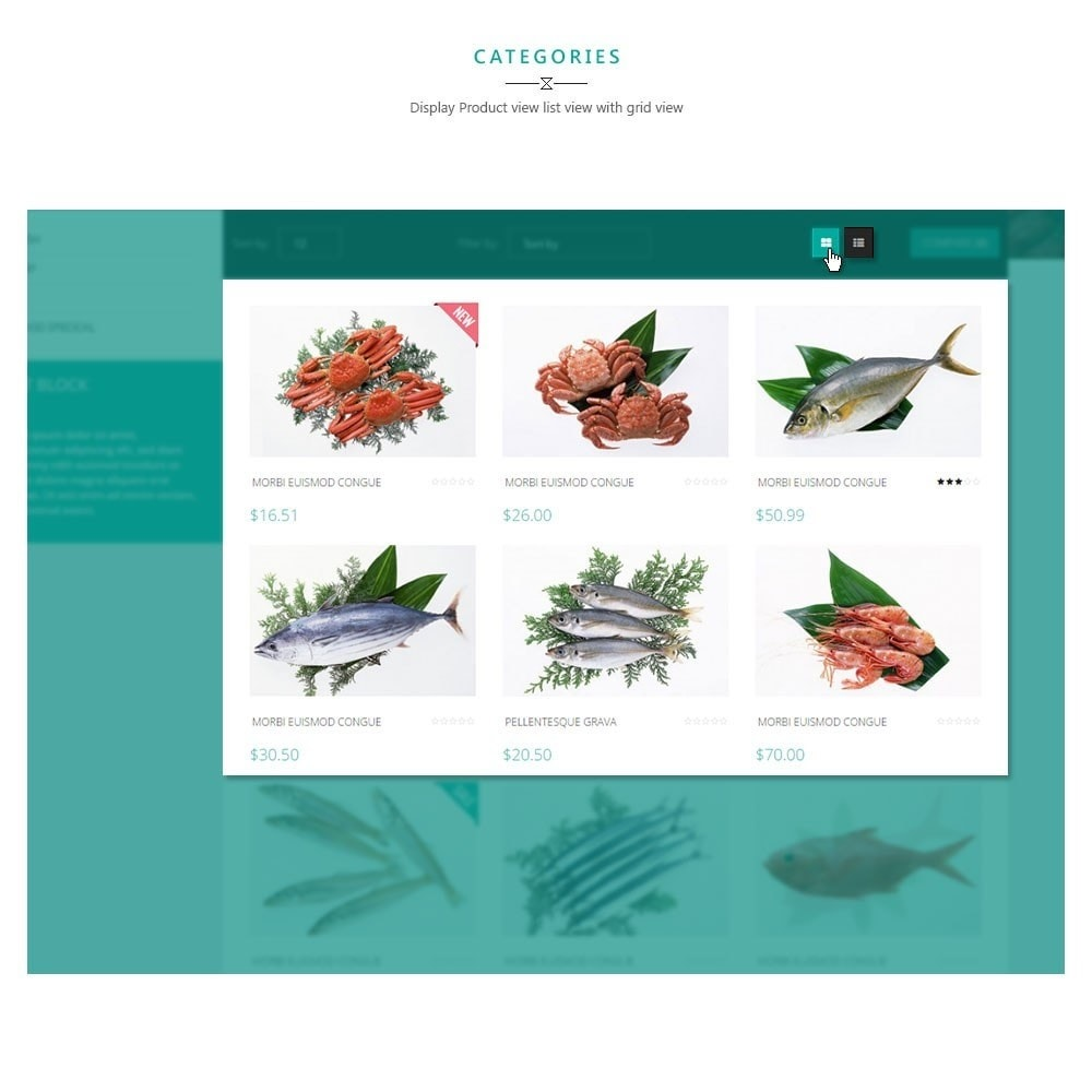 theme - Alimentation & Restauration - Leo Moonsun Market - 3
