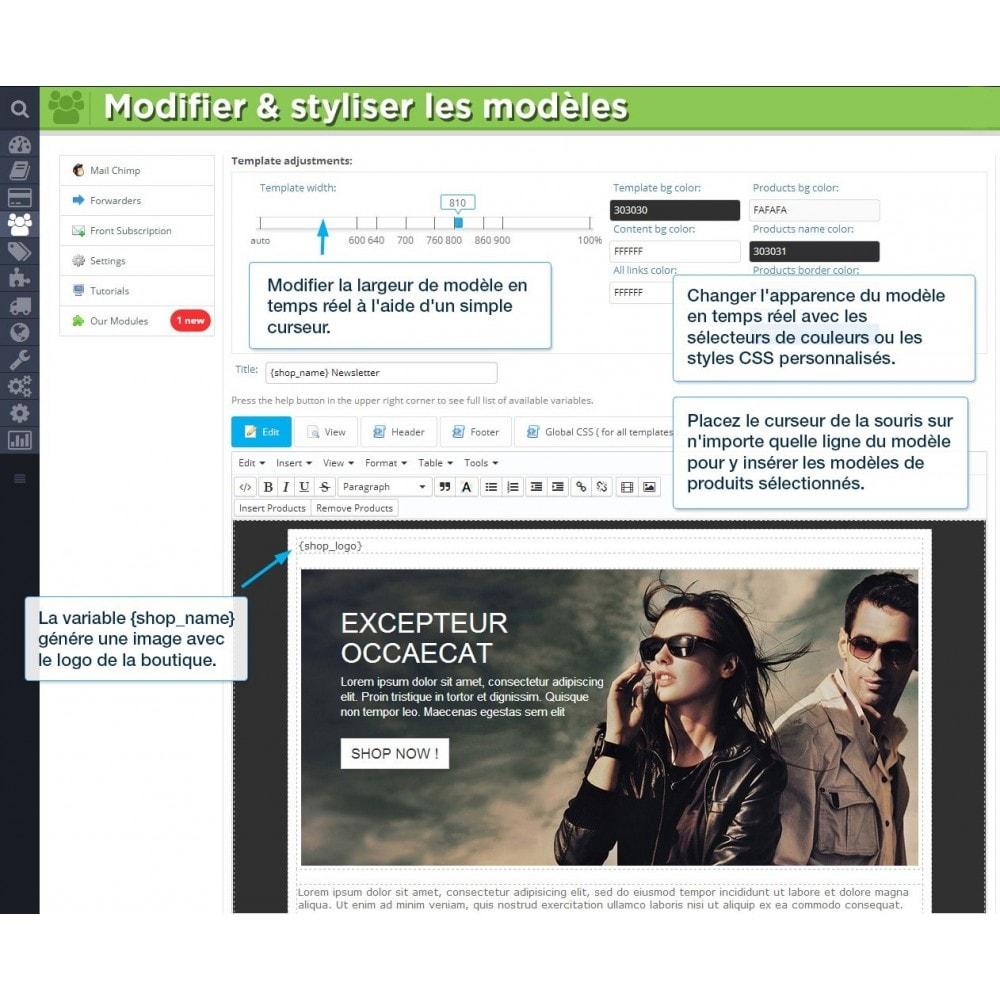 module - Newsletter & SMS - Newsletter Pro - 5