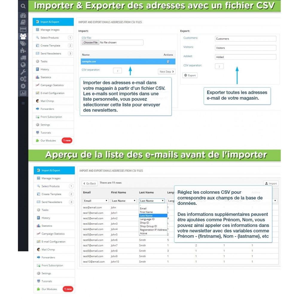 module - Newsletter & SMS - Newsletter Pro - 13
