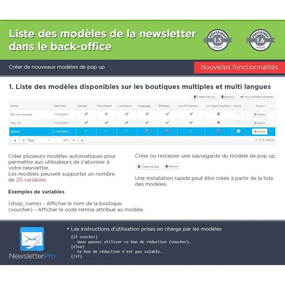 module - Newsletter & SMS - Newsletter Pro - 28