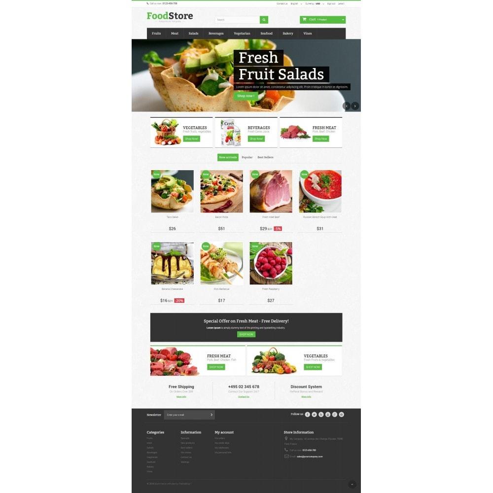 theme - Żywność & Restauracje - Food Store Prestashop 1.6 Responsive - 2