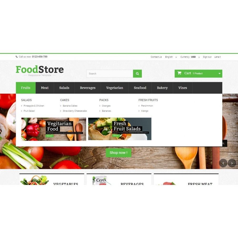 theme - Żywność & Restauracje - Food Store Prestashop 1.6 Responsive - 5
