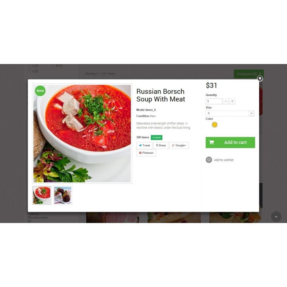 theme - Żywność & Restauracje - Food Store Prestashop 1.6 Responsive - 7