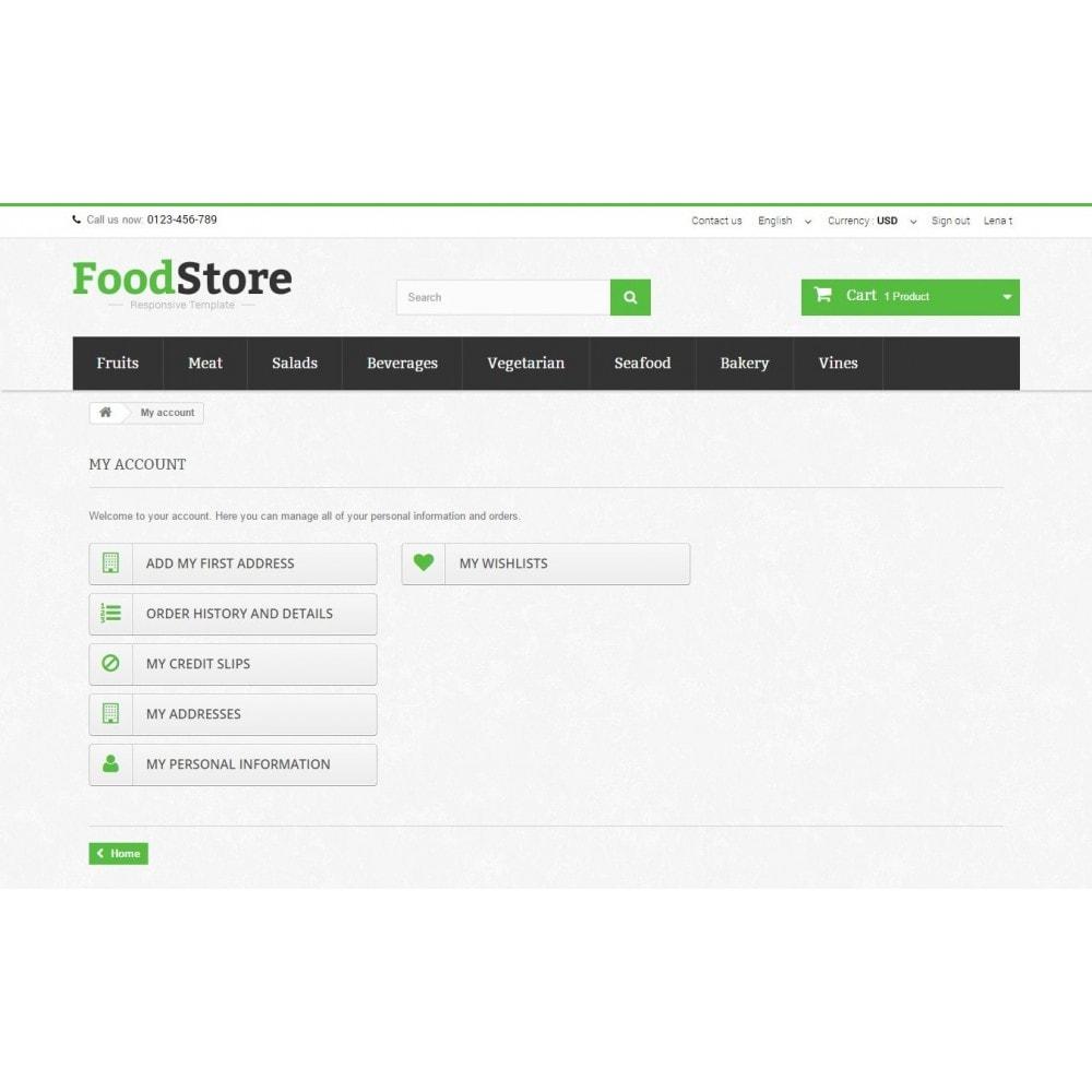 theme - Żywność & Restauracje - Food Store Prestashop 1.6 Responsive - 10