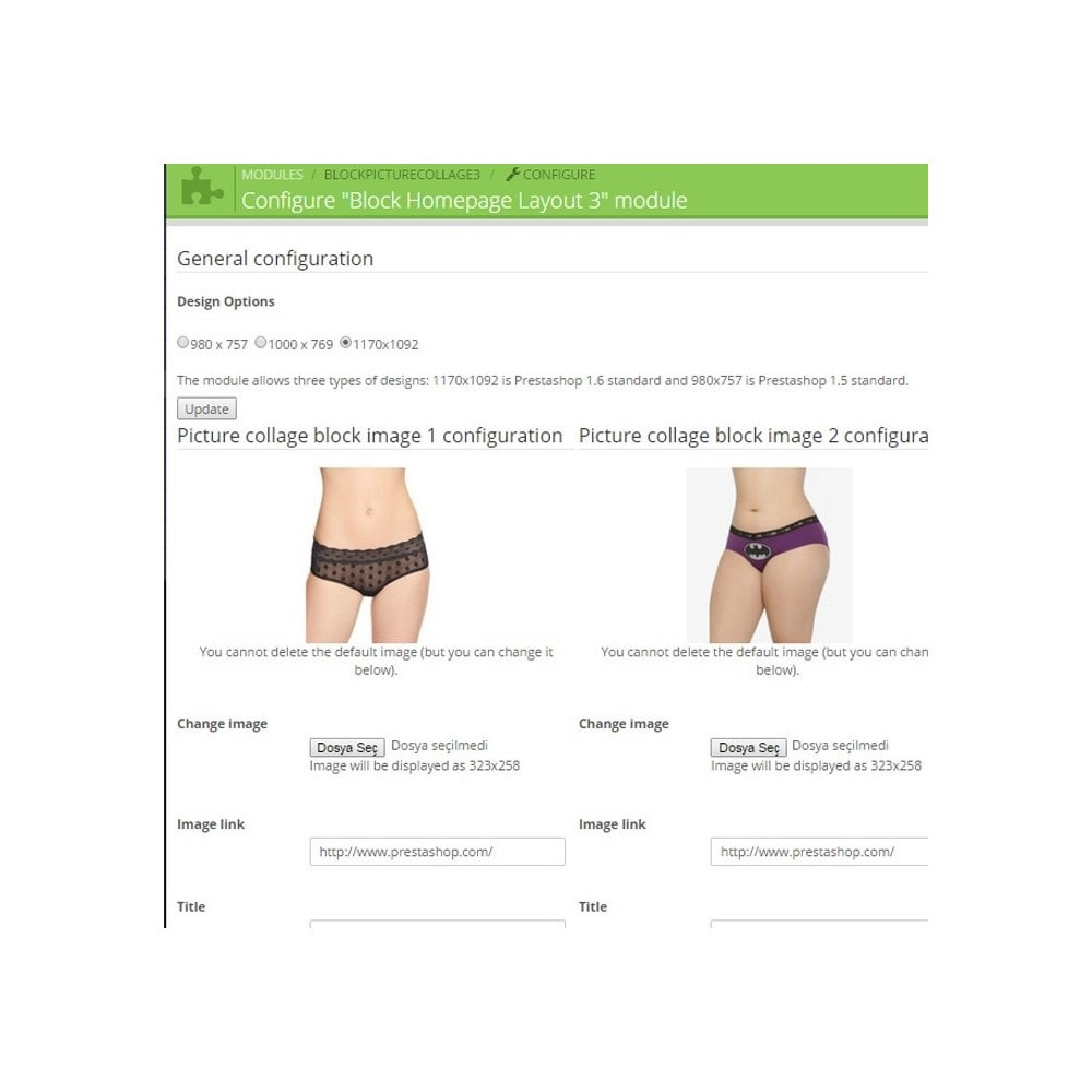 module - Page Customization - Responsive Homepage Layout 3 - Lingerie - 3
