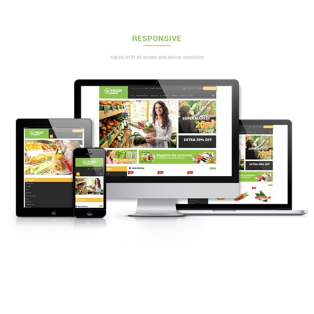 theme - Alimentation & Restauration - Leo Fresh Store - 1