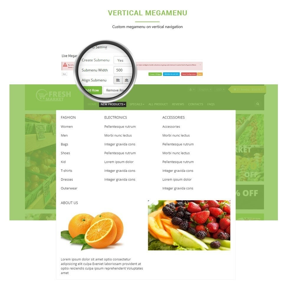 theme - Alimentation & Restauration - Leo Fresh Store - 5