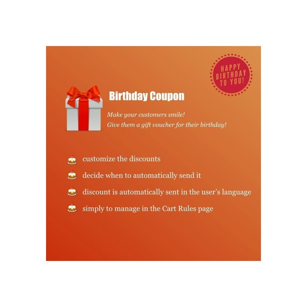 module - Referral & Loyalty Programs - Birthday Coupon - 1