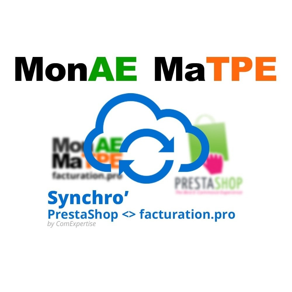 module - Data Integraties (CRM, ERP...) - Connector www.facturation.pro (Mon AE, Ma TPE) - 1