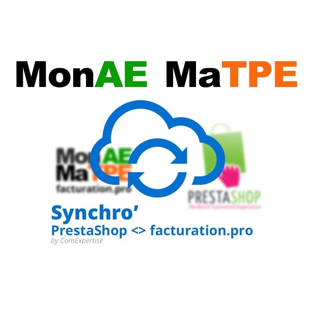 module - Connexion à un logiciel tiers (CRM, ERP...) - Facturation.pro (Mon AE, Ma TPE) Connecteur temps réel - 1