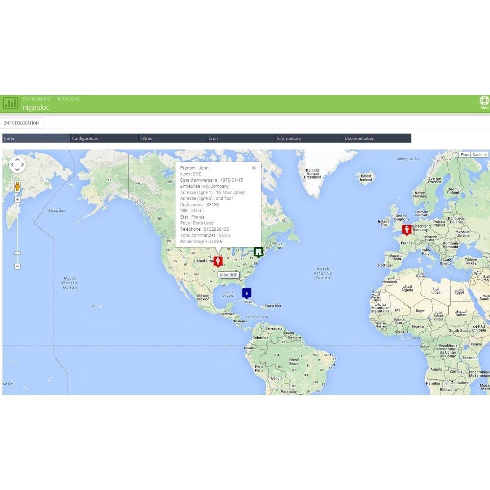 module - International & Localisation - NT Geoloc, géolocalisez précisément vos clients - 3