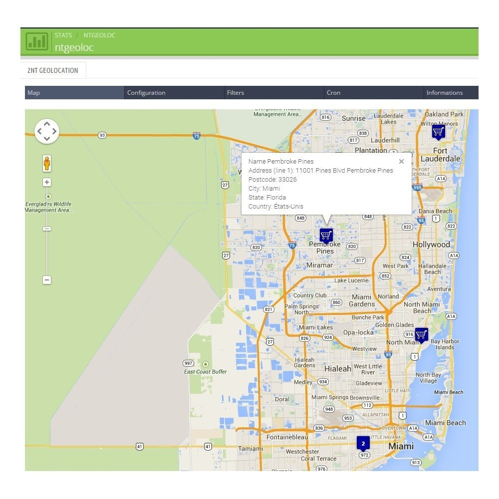 module - Internationalisierung & Lokalisierung - NT Geoloc, precisely locate your customers and stores - 2