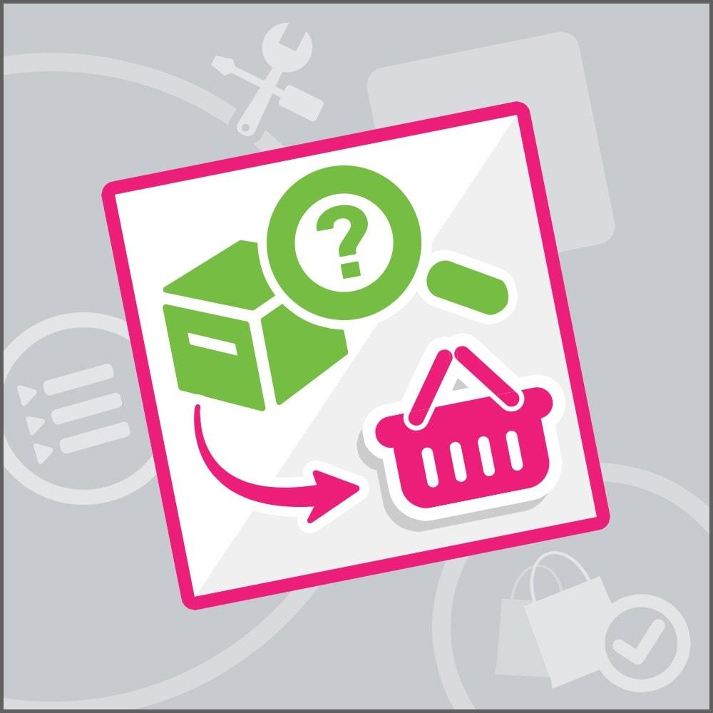 module - Zarządzanie zamówieniami - Order recovery - 1