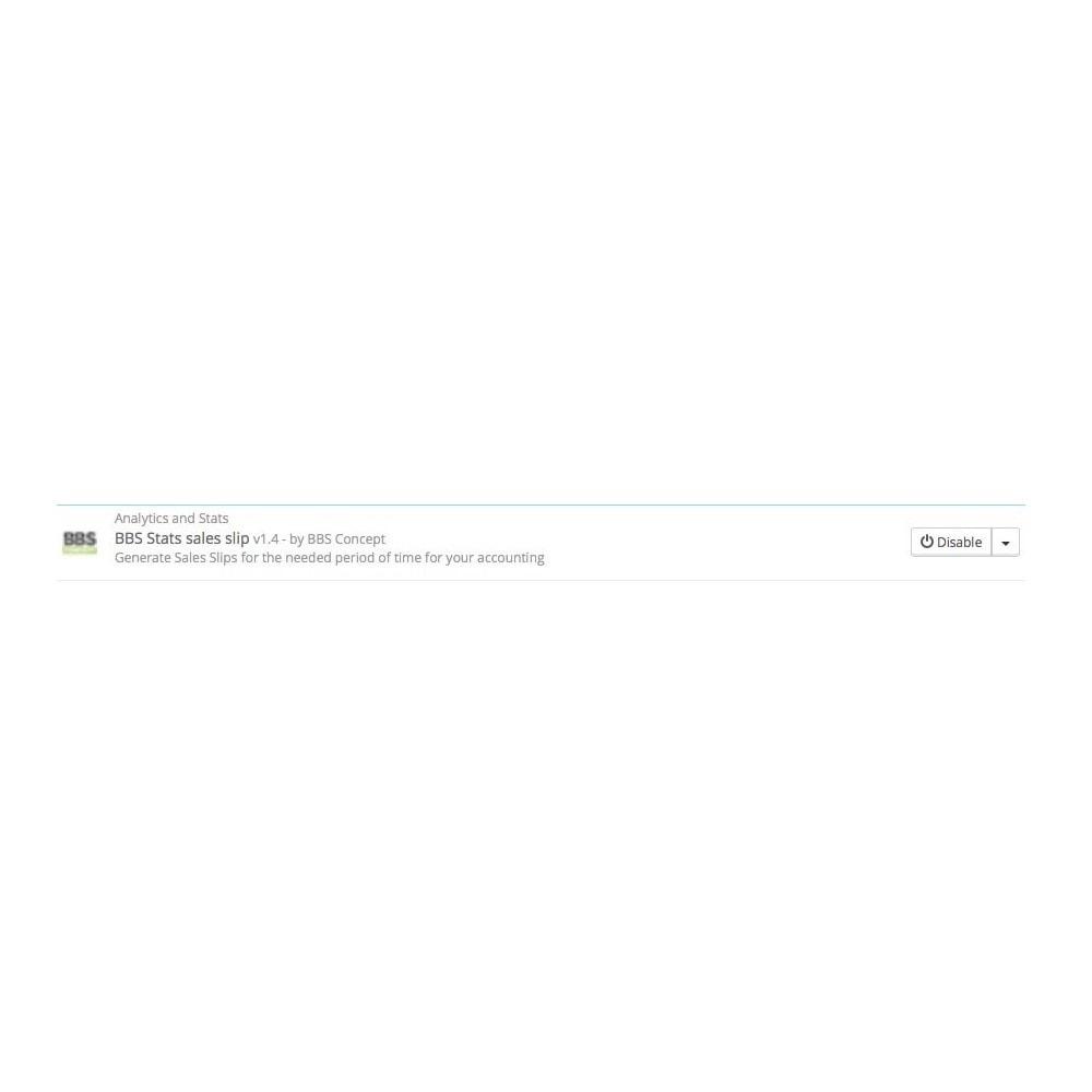 module - Importación y Exportación de datos - Sales Slip Export PDF & CSV - 4