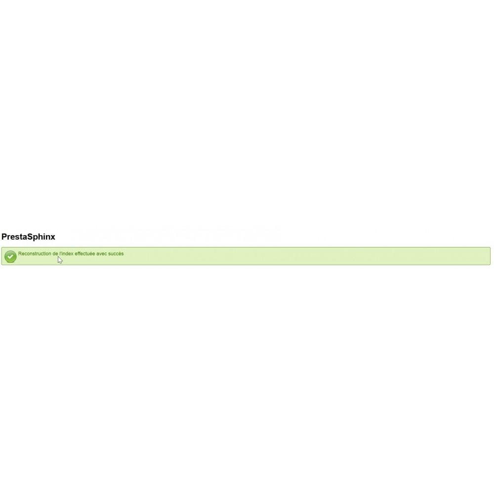 module - Recherche & Filtres - PrestaSphinx connecteur moteur de recherche Sphinx - 3