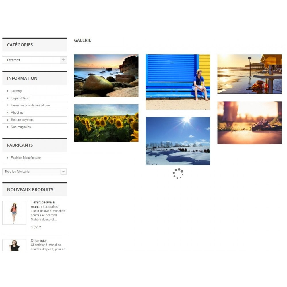 module - Sliders & Galeries - Galerie - Album photo - Parutions presse - 1