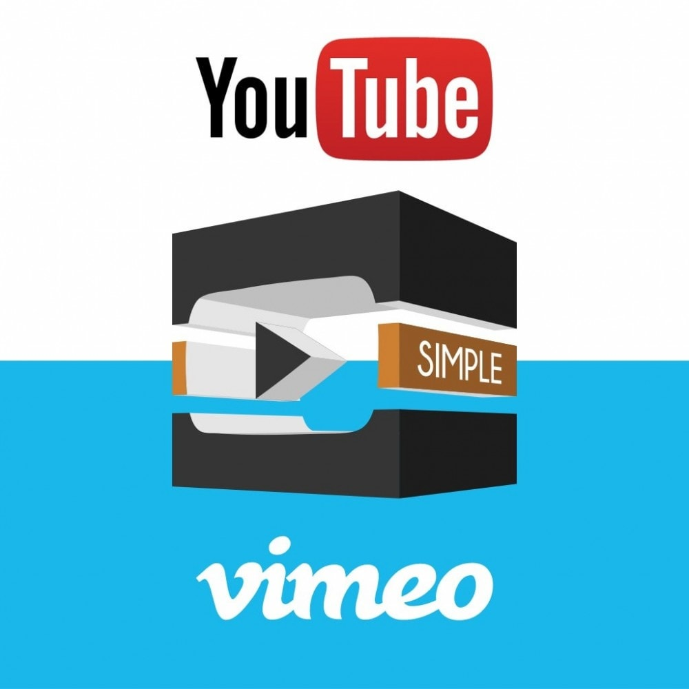 module - Video & Musica - YouTube and Vimeo product videos - 1