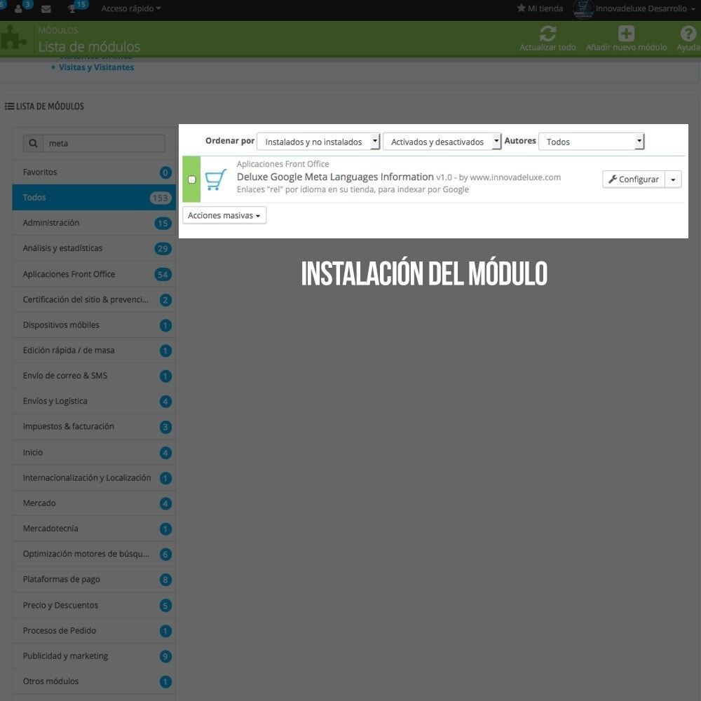 module - Internacionalización y Localización - MetaLang (info para Google de los idiomas de tu tienda) - 2