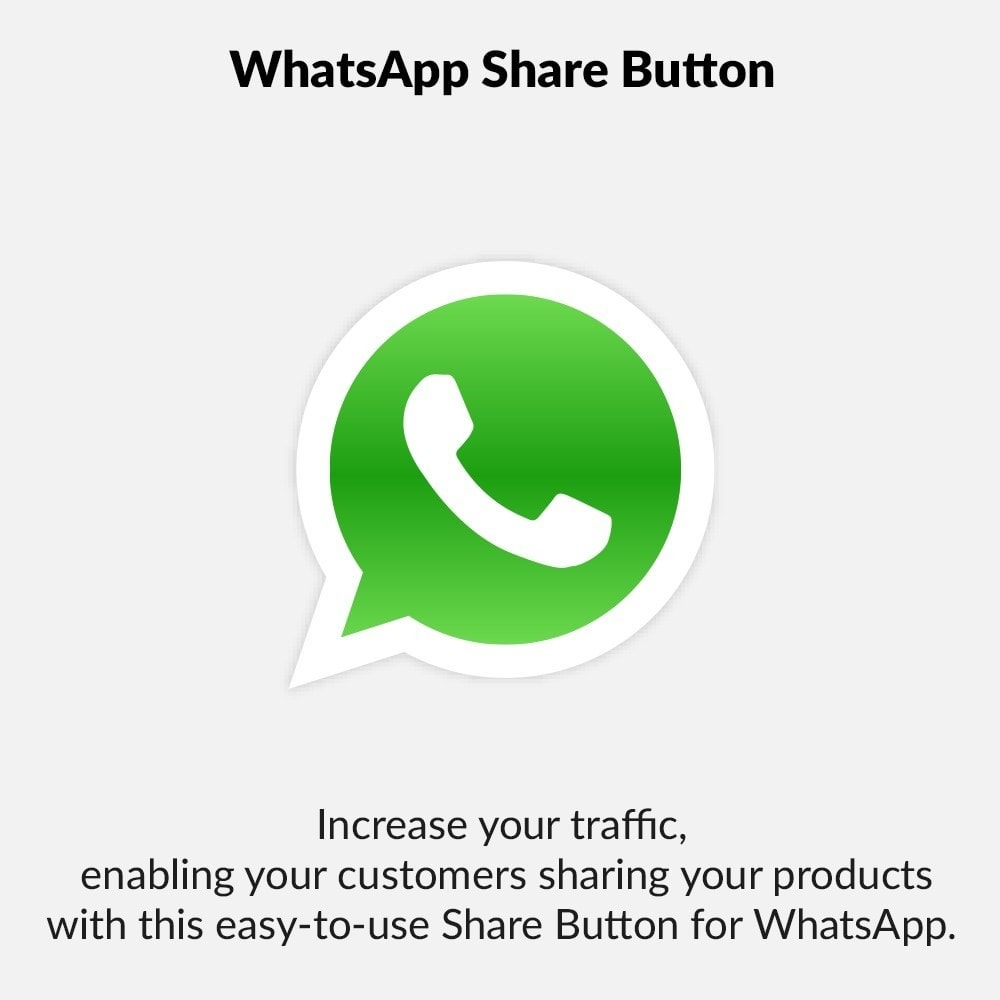 module - Deelknoppen & Commentaren - WhatsApp Share Button - 1