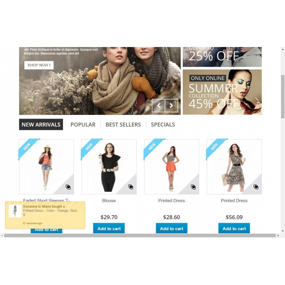 module - Cross-selling & Product Bundle - Product Sold Popup - 1