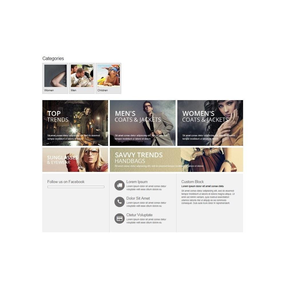 module - Prodotti su Home - Categorie in home page - 1