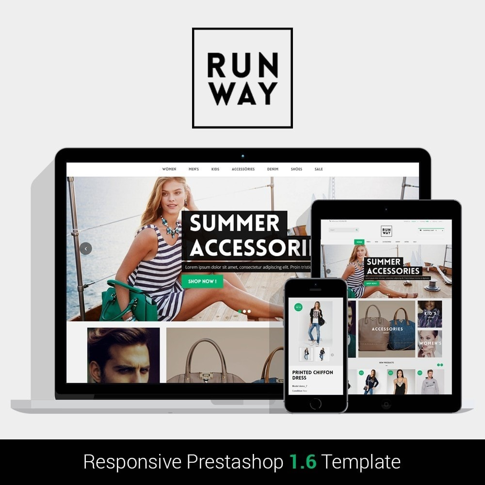 theme - Fashion & Shoes - Runway Fashion Responsive Prestashop 1.6 - 1