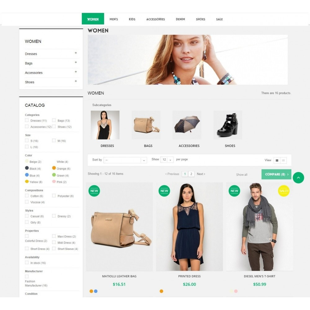 theme - Fashion & Shoes - Runway Fashion Responsive Prestashop 1.6 - 7