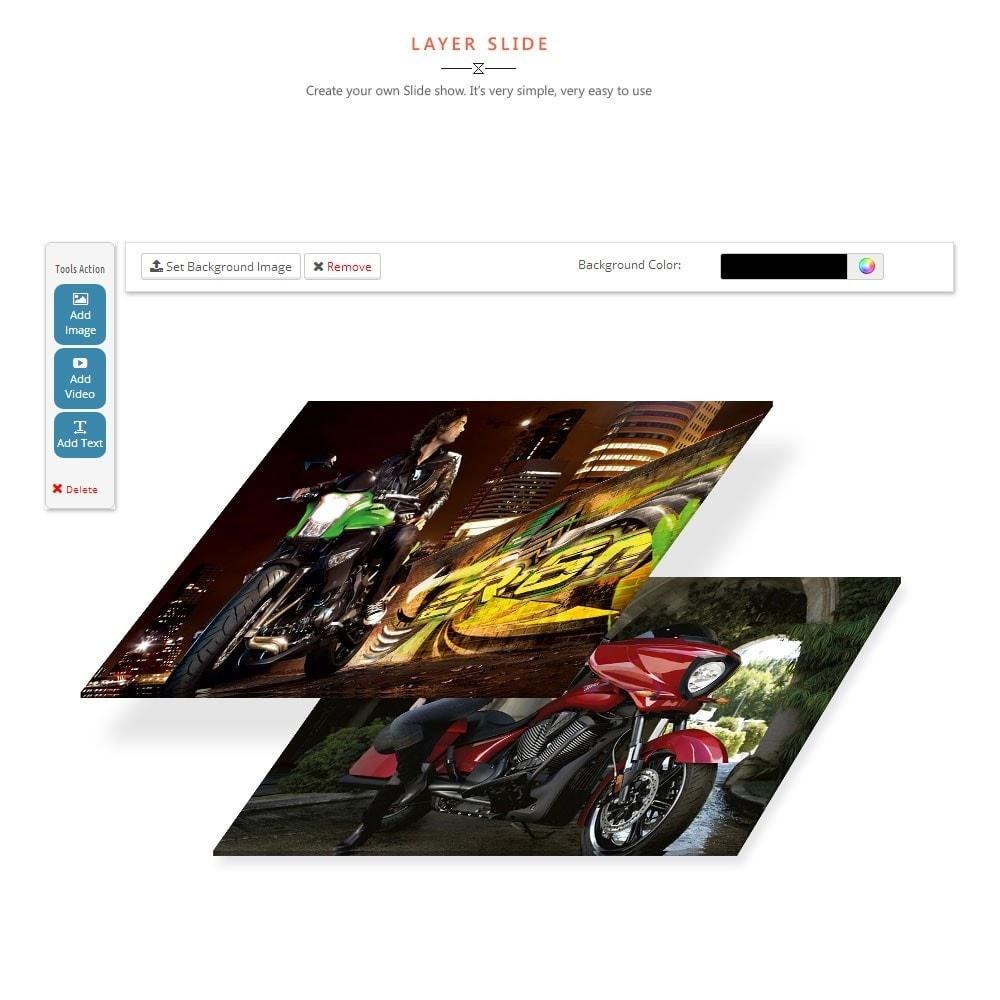 theme - Sports, Activities & Travel - Leo Motorcycle Store - 2