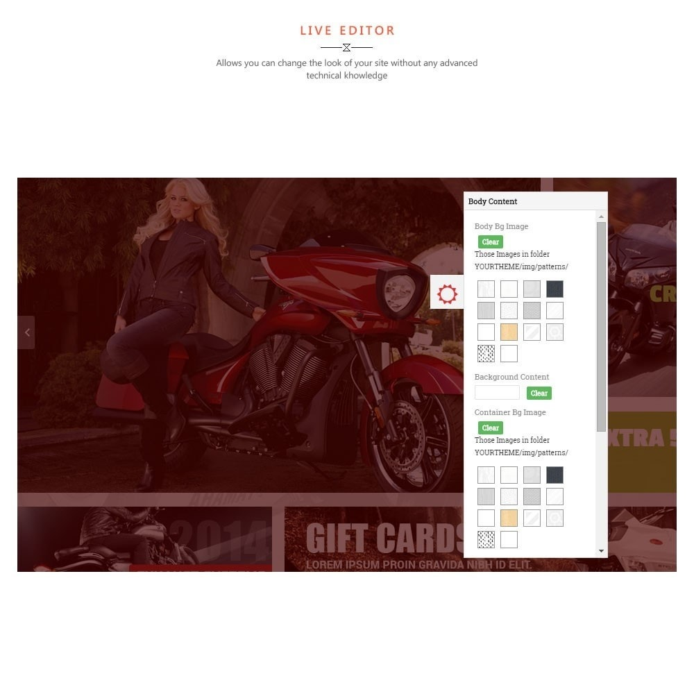 theme - Sports, Activities & Travel - Leo Motorcycle Store - 7