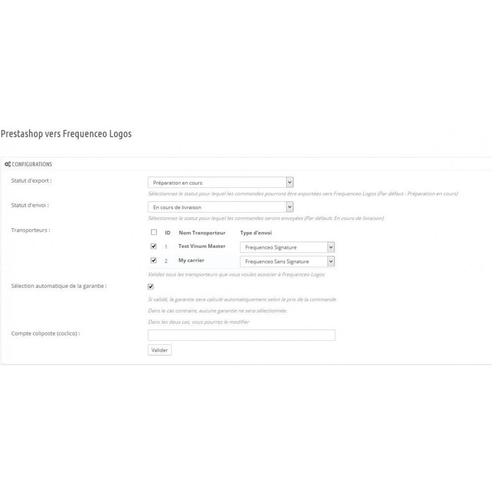 module - Préparation & Expédition - Prestashop Frequenceo Logos - 1