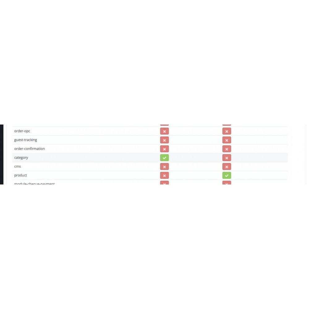 module - Personalización de la página - Activar o desactivar Columnas - 3