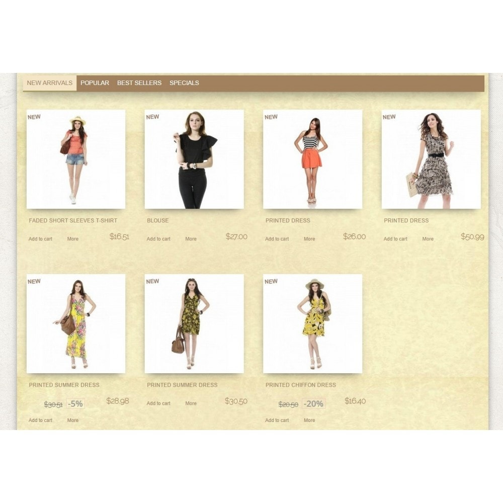theme - Fashion & Shoes - Super Neutral - Prestashop Responsive 2 - 3
