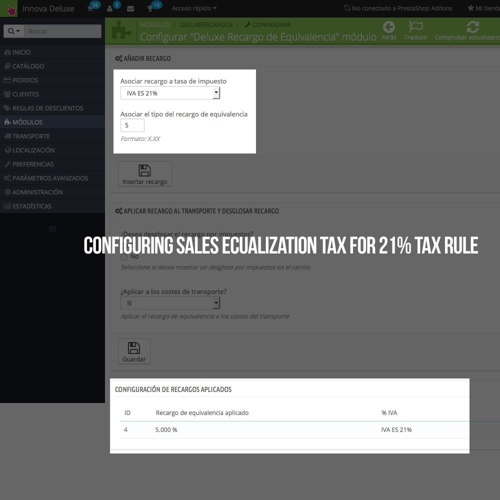 module - B2B - Applying sales equalization tax to orders and invoices - 5