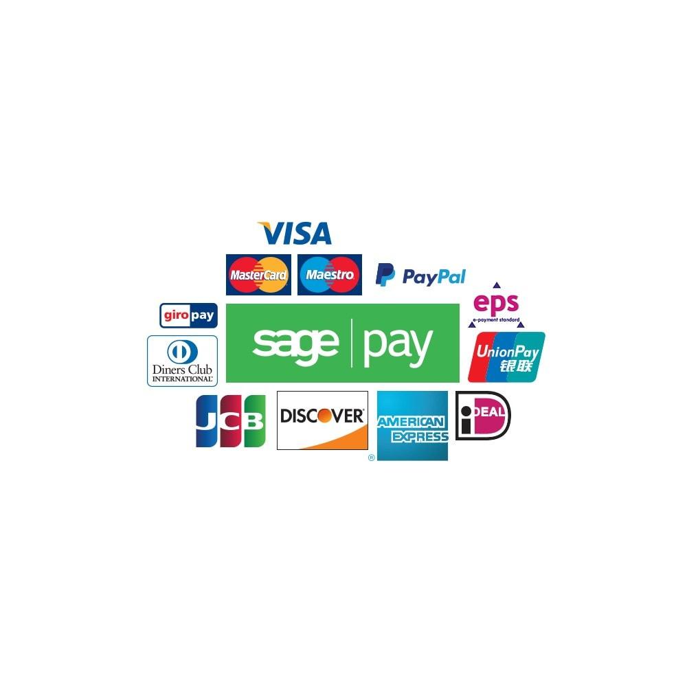 module - Zahlung per Kreditkarte oder Wallet - Sage Pay Go - 4