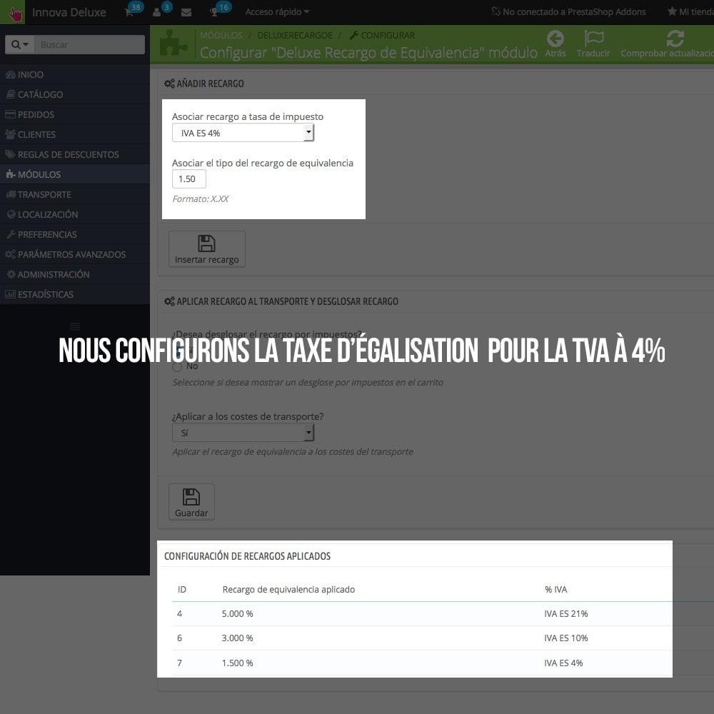 module - B2B - Appliquer Taxe d'égalisation aux commandes et factures - 7