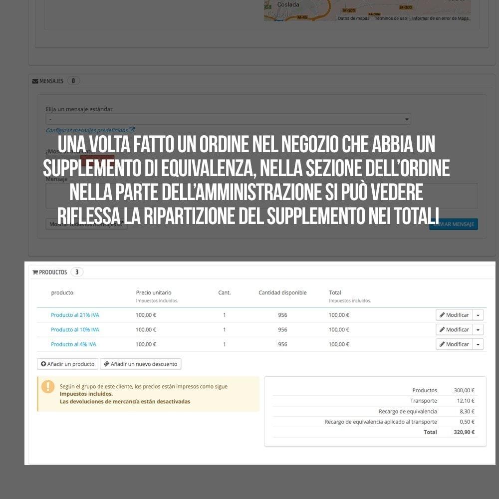 module - B2B - Applicare supplemento di equivalenza a ordini/fatture - 22