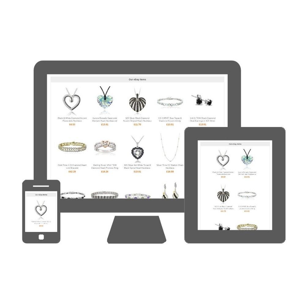 module - Ventes croisées & Packs de produits - My eBay items block - 1
