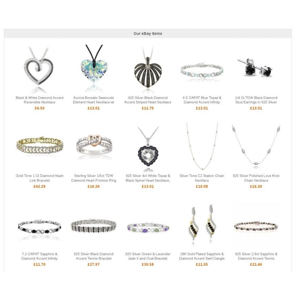 module - Sprzedaż krzyżowa & Pakiety produktów - My eBay items block - 2