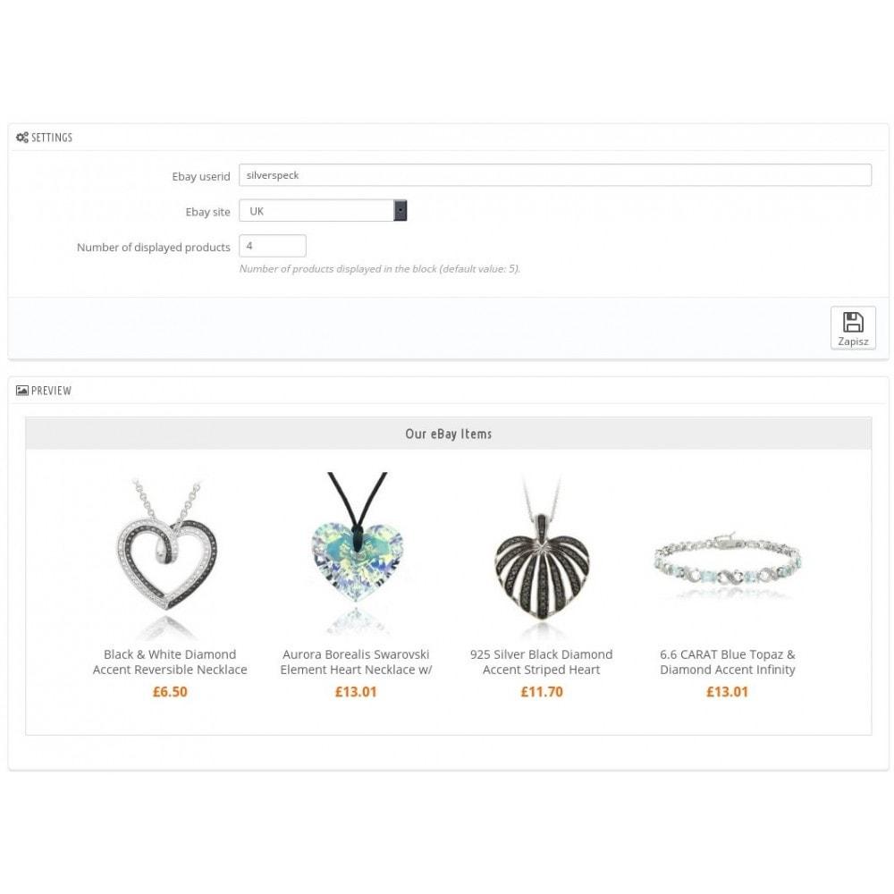 module - Sprzedaż krzyżowa & Pakiety produktów - My eBay items block - 3
