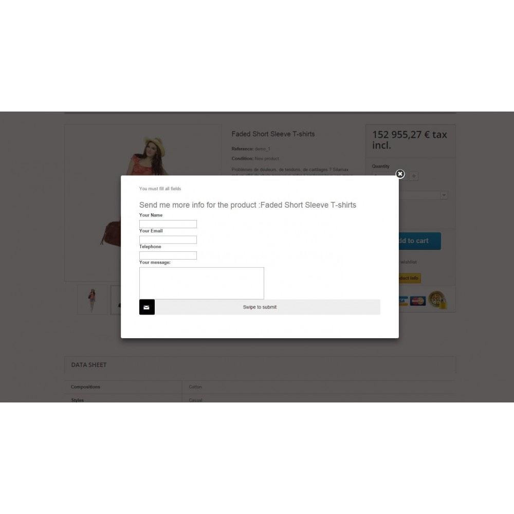 module - Formulaires de Contact & Sondages - Request Product Info - 6