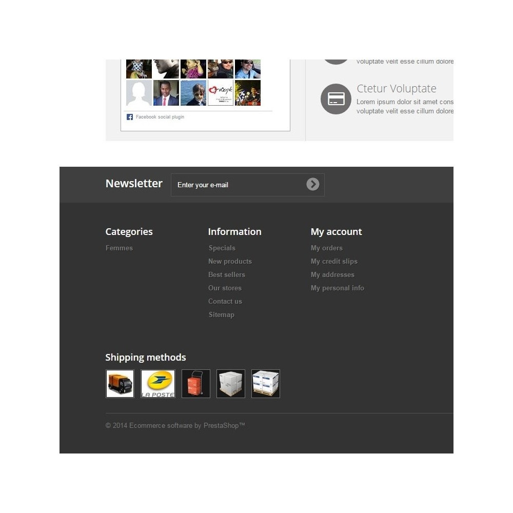 module - Odznaki & Logo - Logos des modes de livraisons - 1